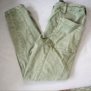 Liverpool Green Jeans